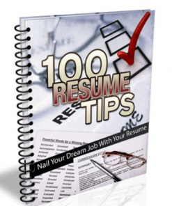 100 Resume Tips eBook