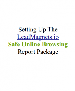 Safe Online Browsing eBook