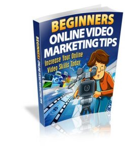 Beginners Online Video Marketing eBook