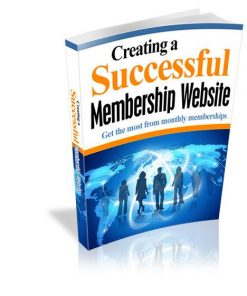 Creating a Successful Membership Website eBook