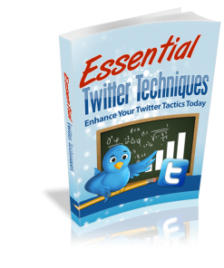 Essential Twitter Techniques eBook