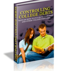 Control College Debts eBook