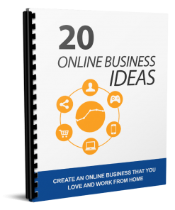 20 Online Business Ideas eBook