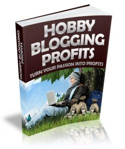 Hobby Blogging Profits eBook