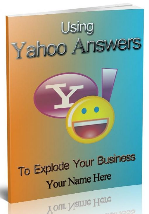 Using Yahoo Answers eBook